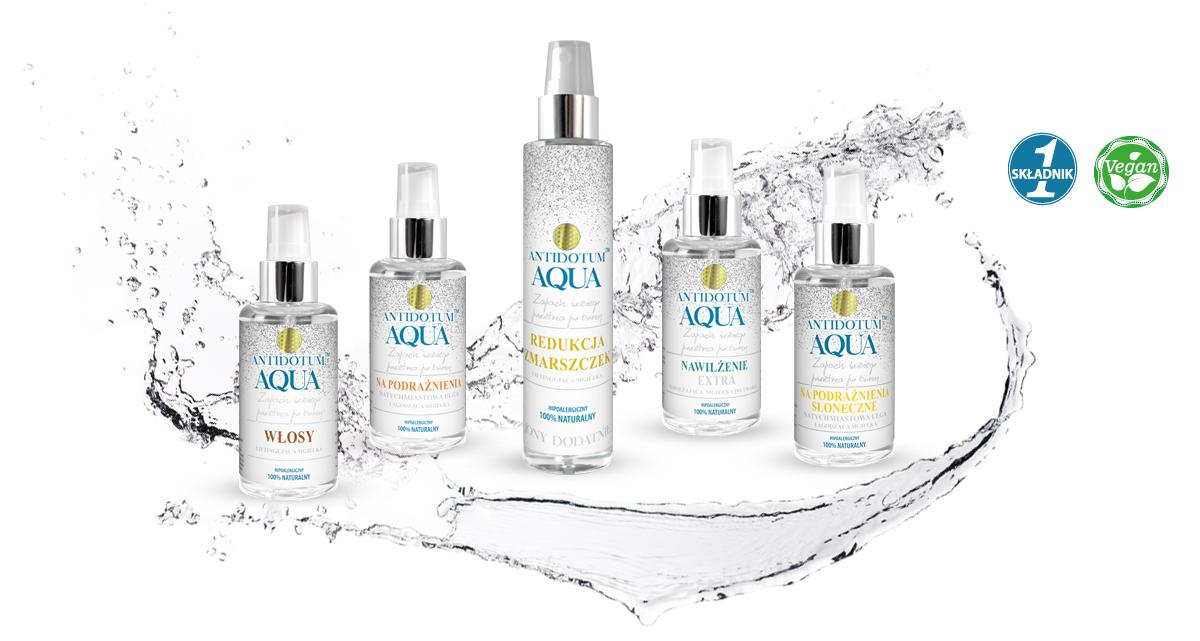 Zobacz co można uzyskać dzięki poszczególnym kosmetykom Antidotum AQUA